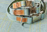 Snelston Tweed Dog Collars